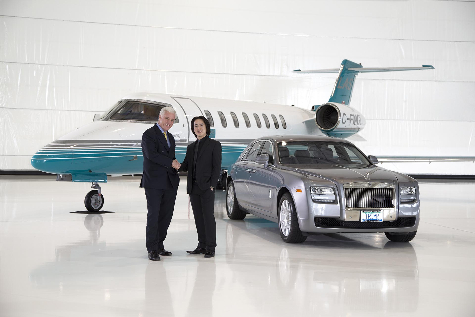 A Partnership London Air Services Rolls Royce Motor Cars and TIHT