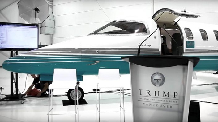 Trump LAS & Rolls Royce announcement