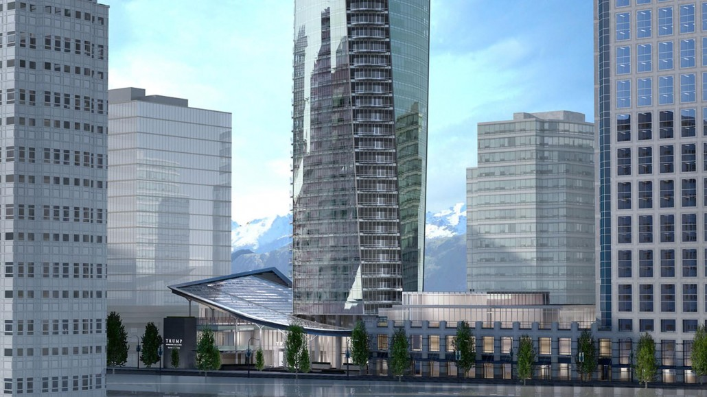 Trump Hotel Vancouver Canada