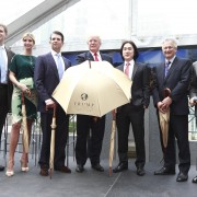 Joo Kim Tiah and Donald Trump announce the new $360-million Trump International Hotel & Tower Vancouver