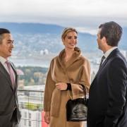 Ivanka and Donald Trump Jr. tour Vancouver